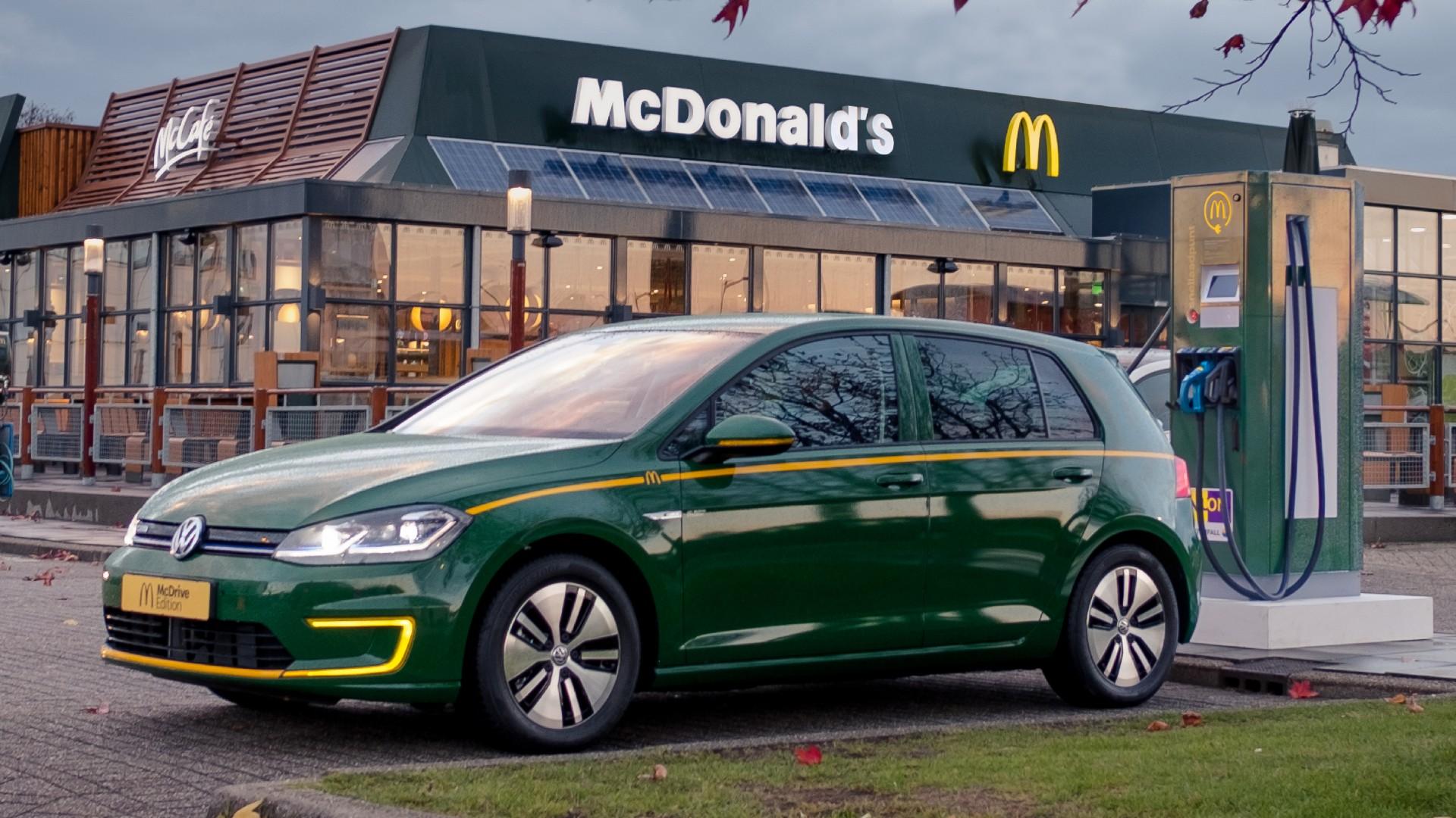 Volkswagen E Golf Kleuren.Opbrengst Volkswagen E Golf Mcdrive Edition Gaat Naar Goed