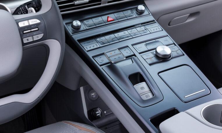 Hyundai Nexo interieur knoppen