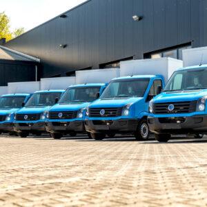 Albert Heijn bezorgt met elektrische VW Crafters