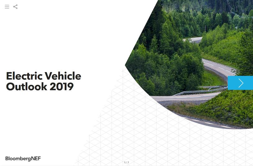BloombergNEF EV Outlook 2019