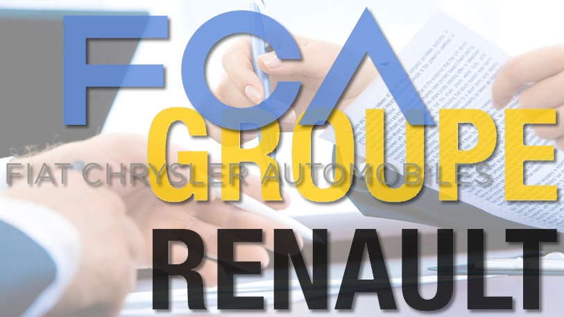 Mogelijke fusie Fiat Chrysler en Renault