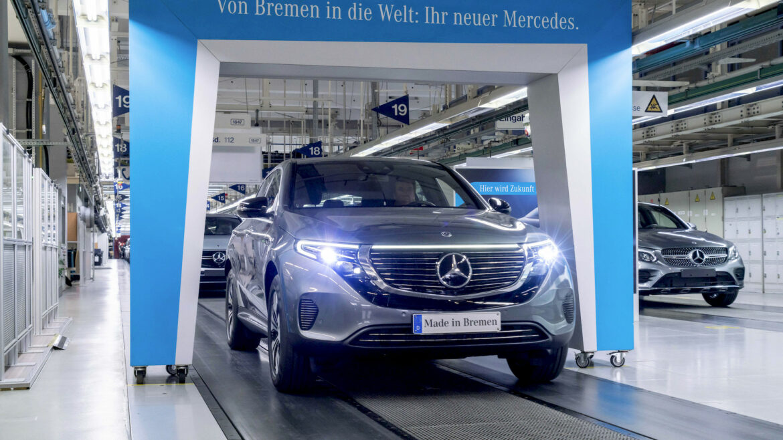 Mercedes EQC productie