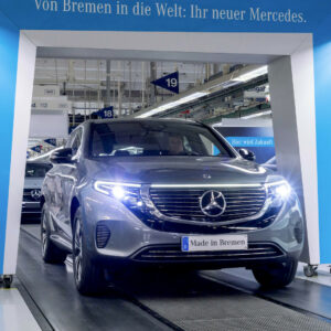 Mercedes EQC productie