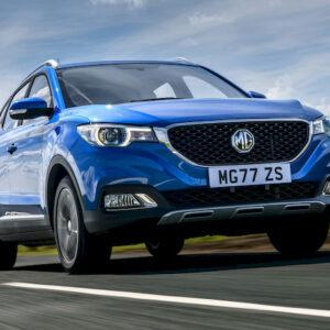 De ZS, de nieuwe elektrische SUV van MG