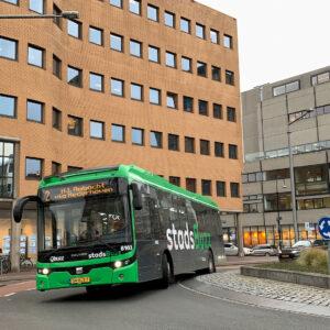 Qbuzz elektrische stadsbuss Ebuco