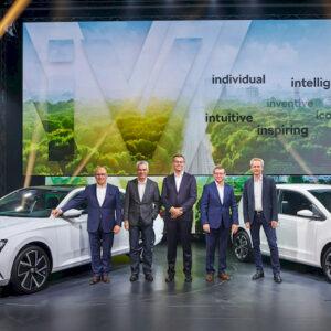 Skoda iV elektrische auto's gepresenteerd