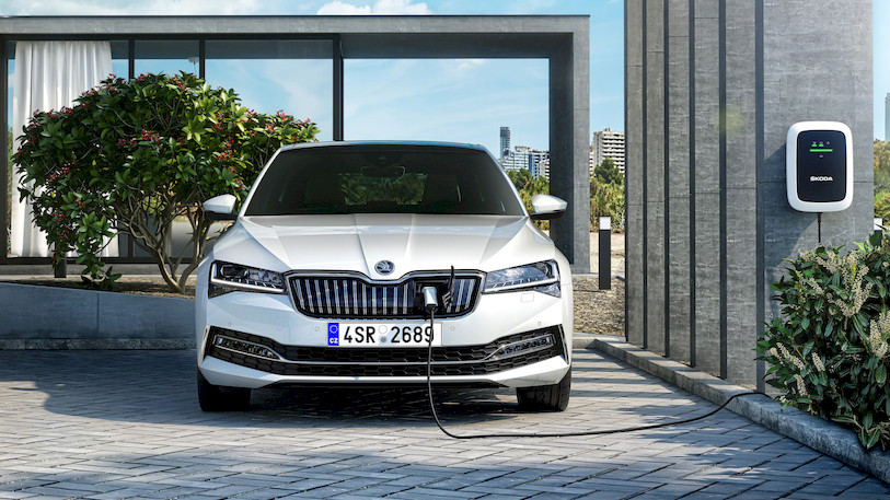 Skoda Superb iV EV