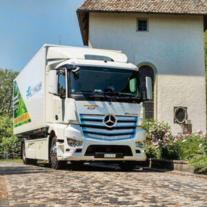 Mercedes eActros trucks