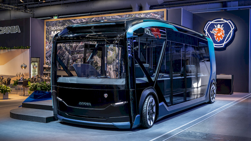 Scania NXT voor modulair, elektrisch en autonoom stadsvervoer