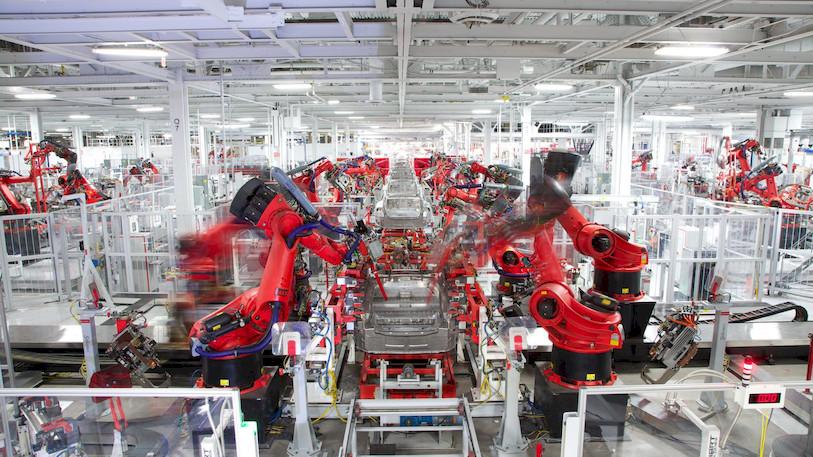 Tesla fabriek productie Europa Gigafactory