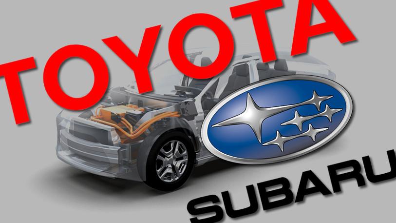 Toyota Subaru samenwerking EV's