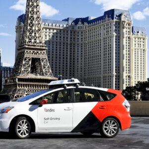 Yandex autonoom rijdende auto