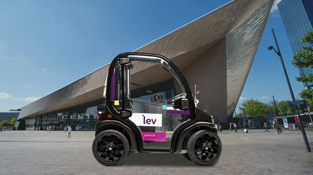 Lev deelauto Rotterdam