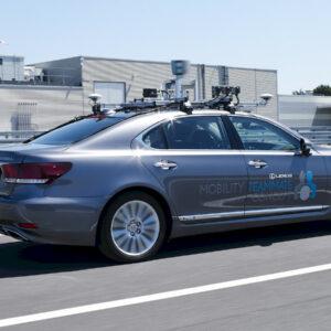 autonome Lexus LS