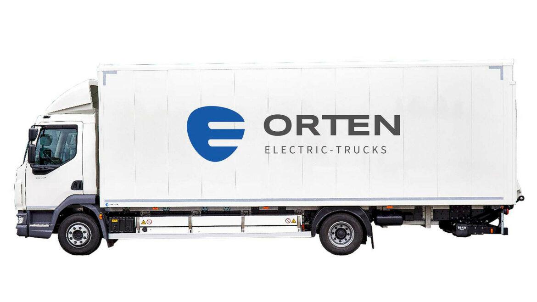 Orten DAF-truck elektrisch omgebouwd