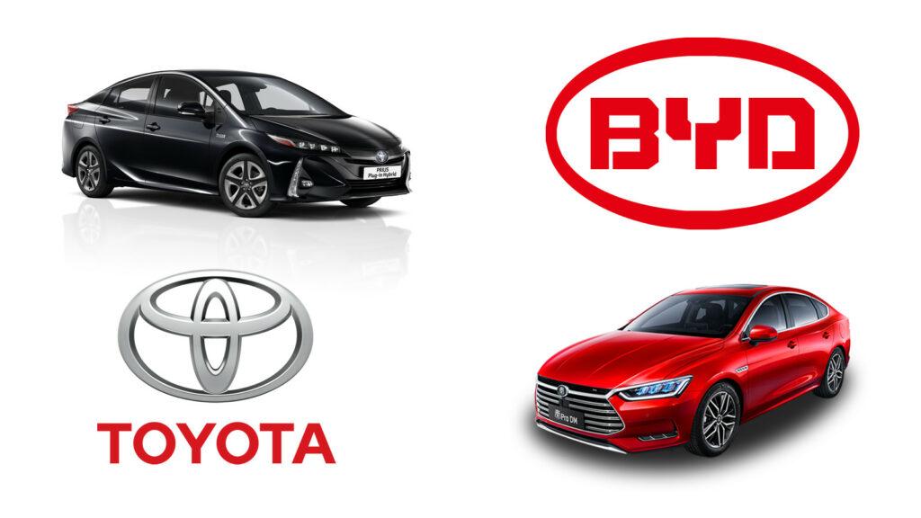Toyota en BYD gaan samen EV's en accu's maken