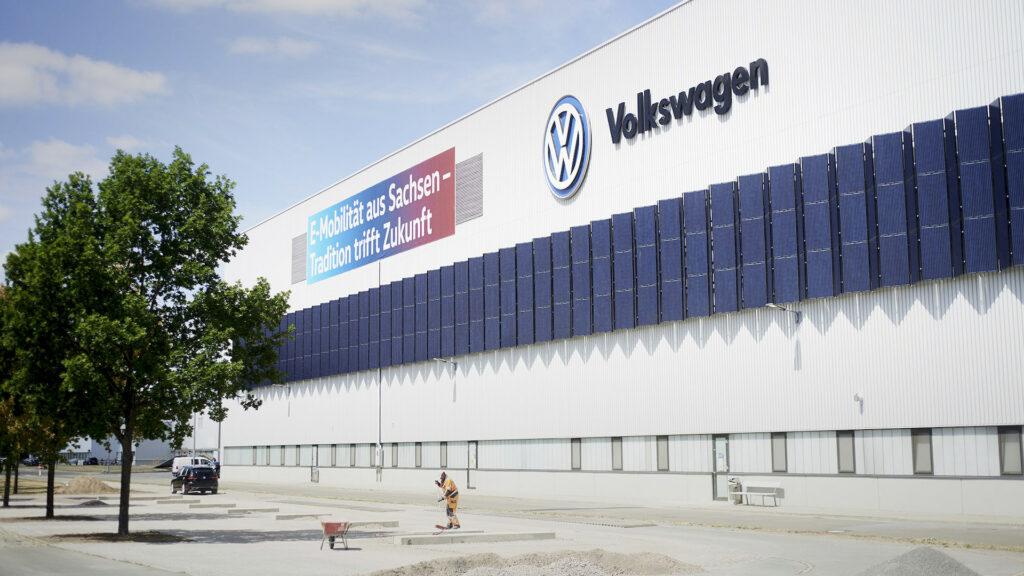 Volkswagen ID-fabriek in Zwickau