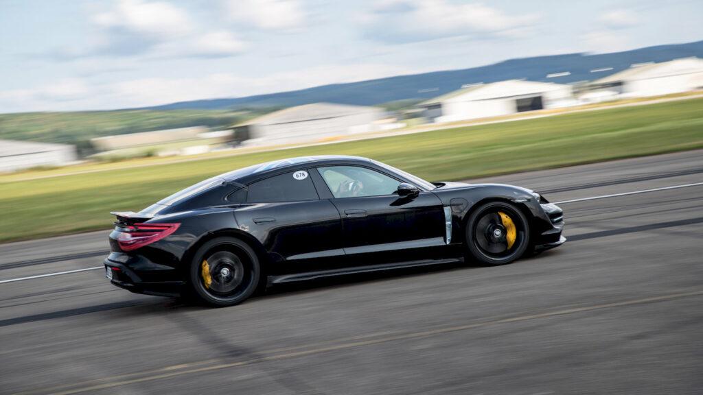 Elektrische Porsche Taycan