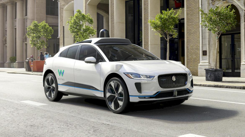 Waymo zelfrijdende auto