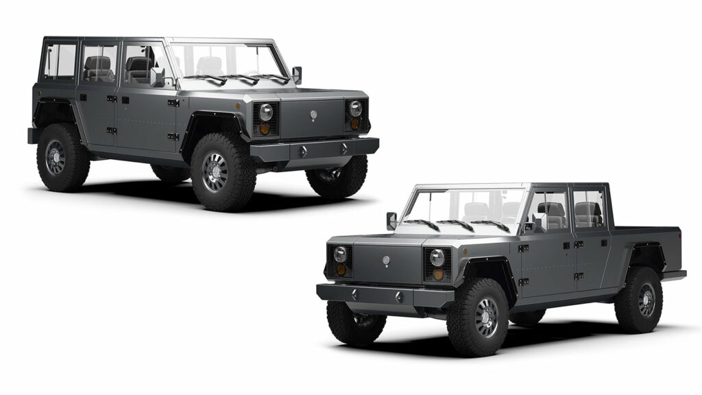 Bollinger truck pick-up SUV