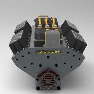elektromotor V8-stijl