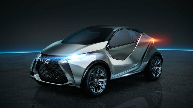 Lexus elektrisch compact hatchback EV
