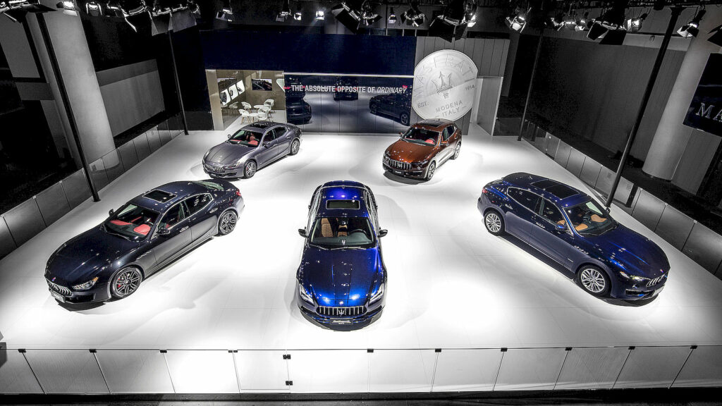 Maserati elektrische hybride auto's