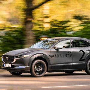 Mazda elektrisch testauto