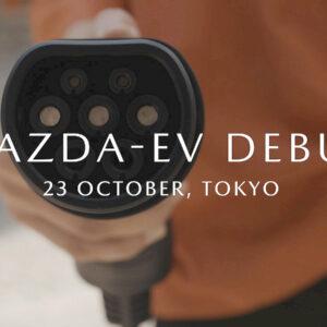 debuut premiere eerste elektrische Mazda