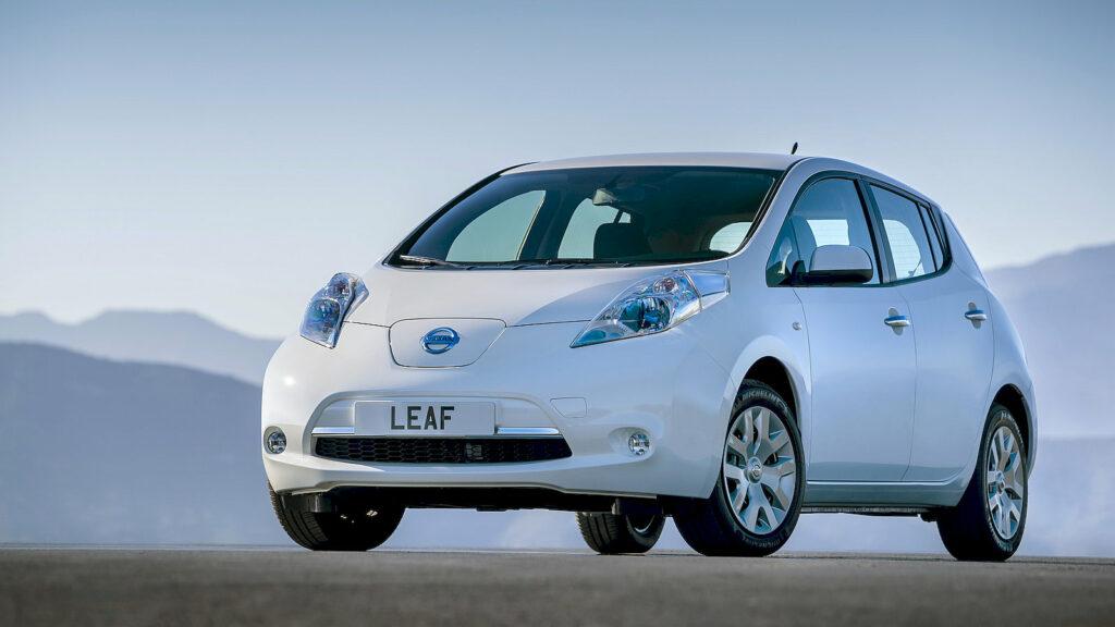 Nissan Leaf V2G principe