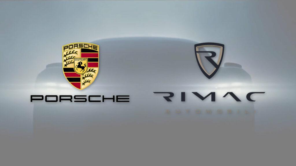 Porsche Rimac samenwerking