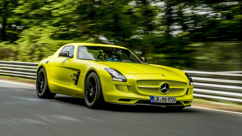 AMG Mercedes elektrisch
