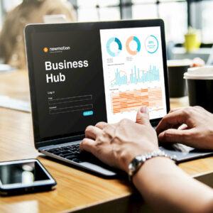 NewMotion Business Hub platform