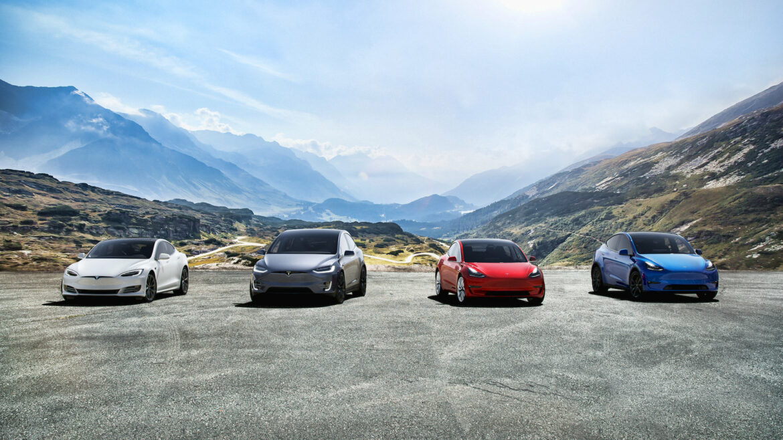 Tesla modellenpalet 2019
