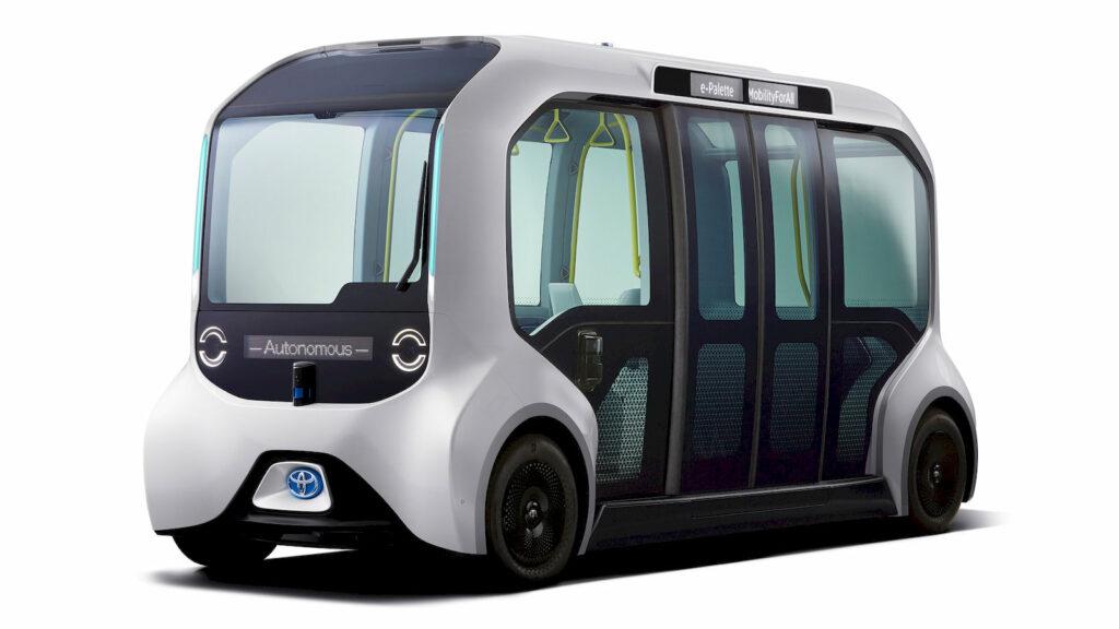 Toyota e-Palette autonoom busje