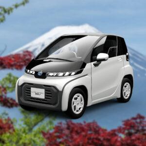 Toyota LEV i-Ride compacte tweezits stadsauto