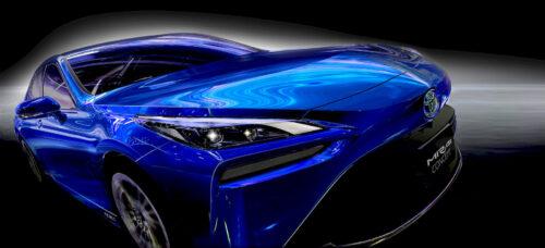 De nieuwe Toyota Mirai