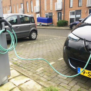 Renault Zoe & EV Cable Hook a perfect combination