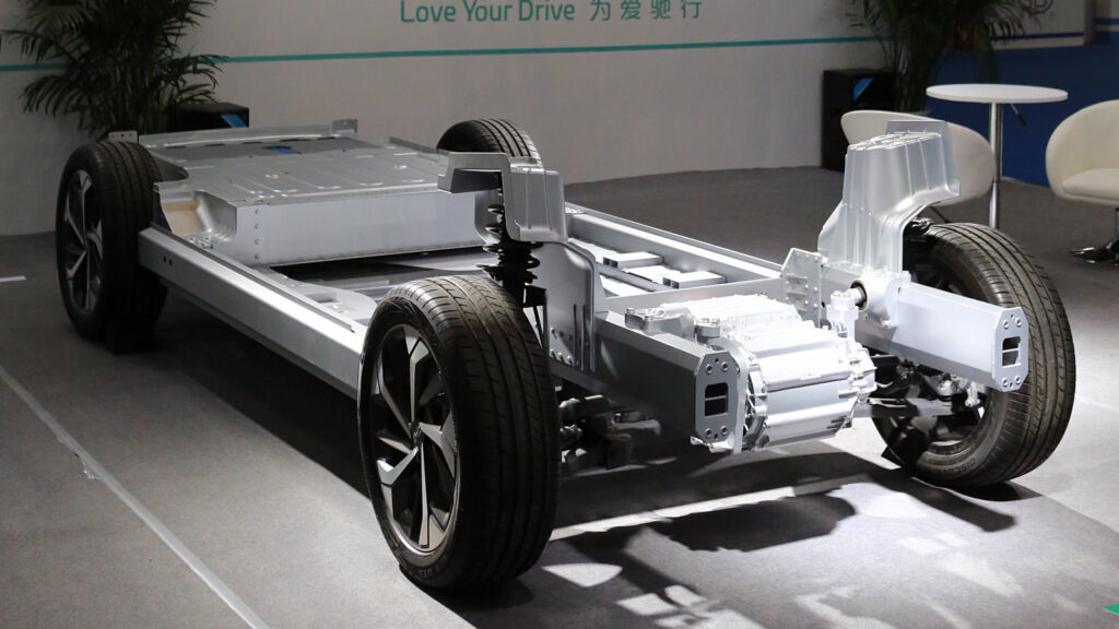 Aiways auto's brandstofcel methanol