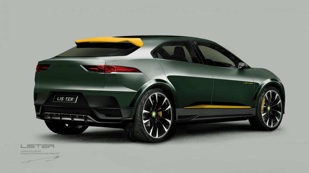 Lister elektrische SUV (Jaguar I-Pace)