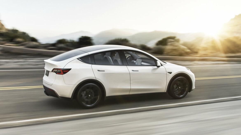 Tesla Model Y eerder in productie
