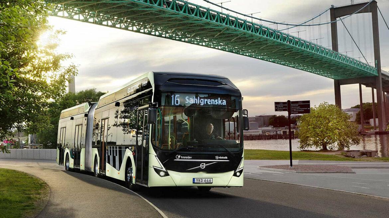Elektrische bus Volvo order Zweden