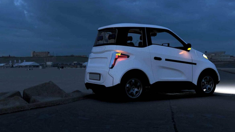 Zetta goedkope kleine elektrische auto