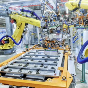 Audi productie accu's recycling Umicor