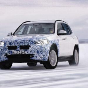 BMW iX3 elektrisch