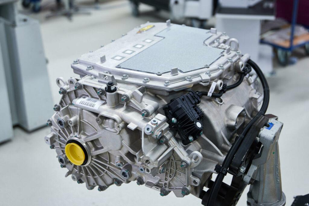 BMW iX3 aandrijflijn elektrisch