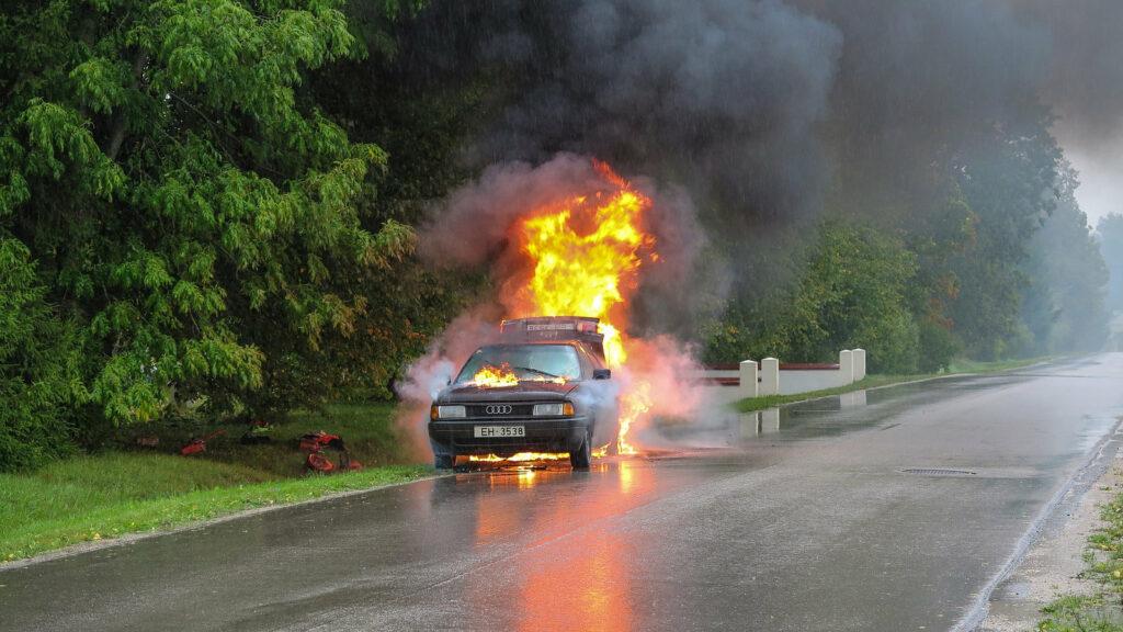 Elektrische auto's niet brandgevaarlijker