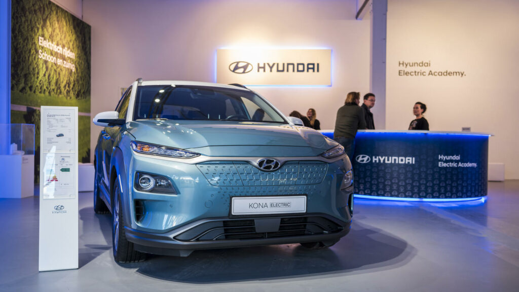 Hyundai Electric Academy pop-up store