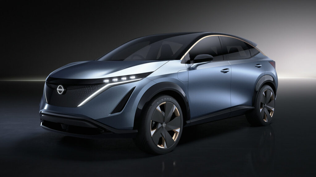 Nissan Ariya elektrische auto