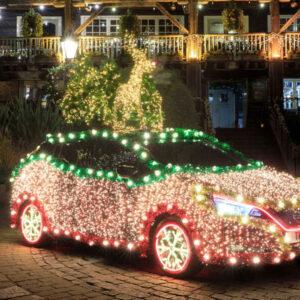 Nissan Leaf kerstboom